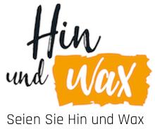 Hin und Wax - Ihr Waxing-Studio in Bielefeld - Haarentfernung: Logo & Slogan