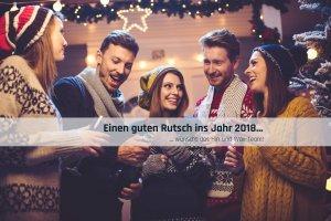 Hin und Wax - Ihr Waxing-Studio in Bielefeld wünscht einen guten Rutsch ins Jahr 2018