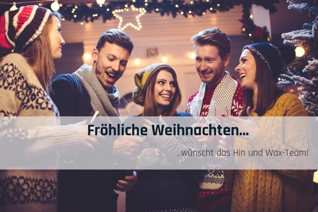 Hin und Wax - Ihr Waxing-Studio in Bielefeld wünsche Fröhliche Weihnachten