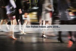 Hin und Wax - Ihr Waxing-Studio in Bielefeld wünscht ein frohes neues Jahr 2018
