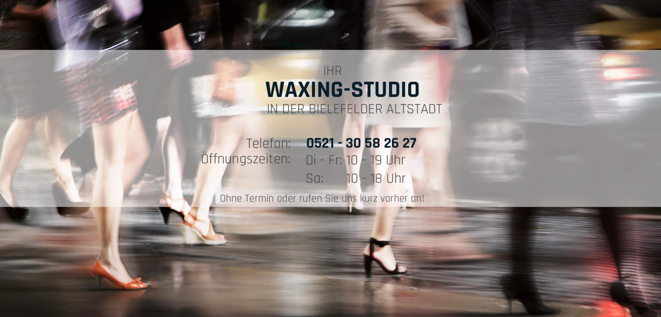 Hin und Wax - Ihr Waxing-Studio in Bielefeld: Waxing und Haarentfernung