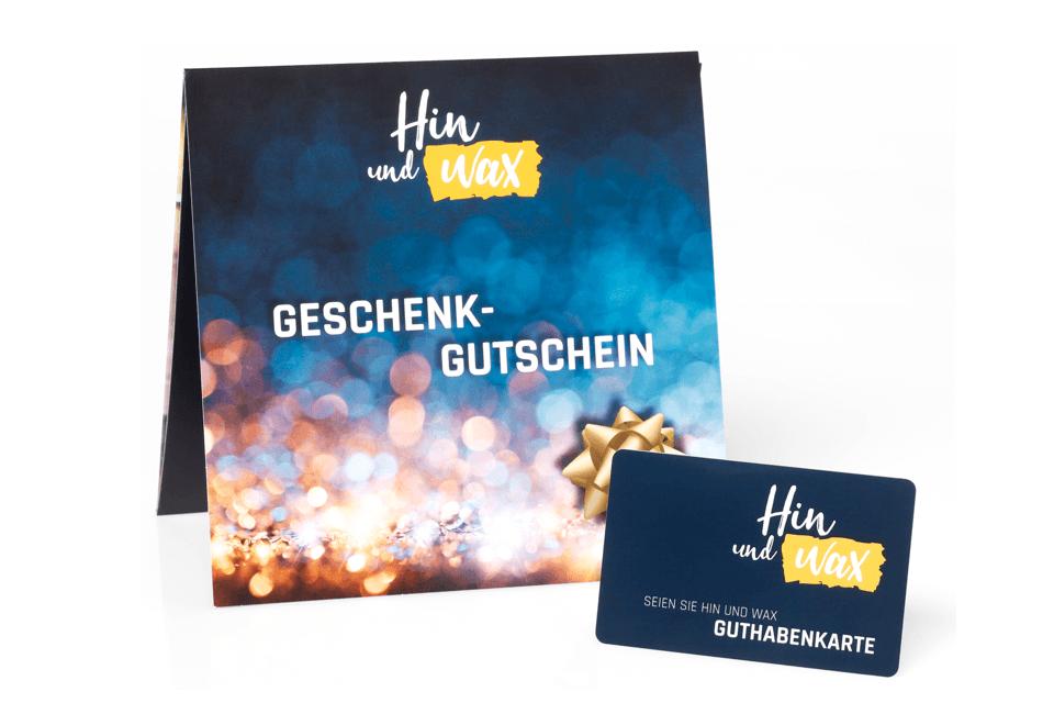 Hin und Wax - Ihr Waxing-Studio in Bielefeld: Unsere Gutscheinkarte